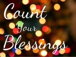 Count Your Blessings in Song