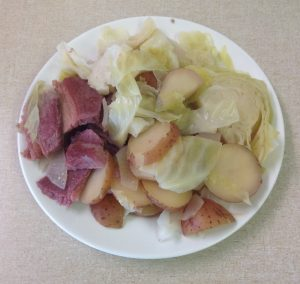 Corned Beef Cabbage Red Potatoes