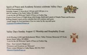Valley Days 2018