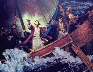 Jesus Will Calm the Raging Storm