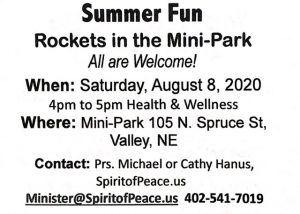 Summer Fun Rockets in the Minipark