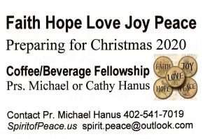 Faith Hope Love Joy Peace FHLJP