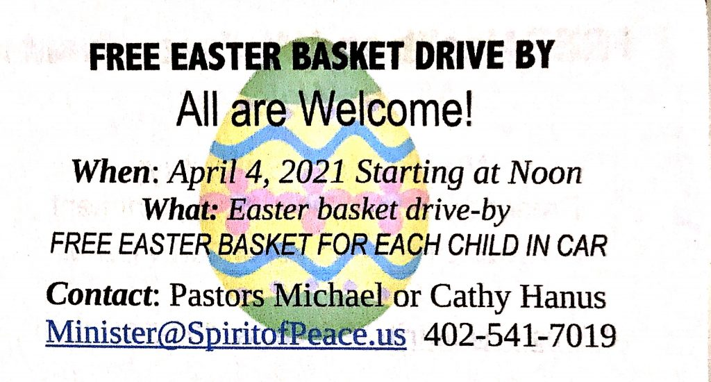 Easter Basket Drive By